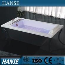 HS-B508 freestanding soaking chinese with four legs free black bathtub