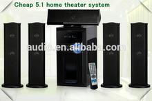 5.1 channel speaker multimedia active speaker system DM6515