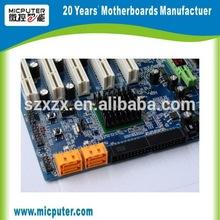 Cheap G41 mini itx intel lga775 motherboard with 5PCI/ATX Power supply