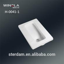 best price urinal bowl pedestal pan modern smooth glaze toilet commode squat