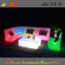 modern light up hotel furniture,glowing hotel lobby sofa,bar lounge sofas