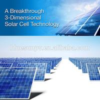 Bluesun Solar plant 1mw solar power system plant for sale