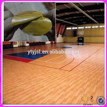 long-lasting pvc synthetic basketball court flooring