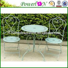 Vintage Green Iron cheap outdoor garden furniture