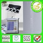 DLP002 EVA / PEVA / PVC hookless 3d shower curtain