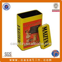china manufacture and beautiful tin can