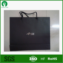 Folding resistance matt laminated black bag paper