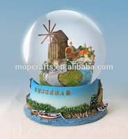 polyresin water globe, resin water globe, souvenir snow globe