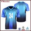 100% polyester football team logo design china football shirt