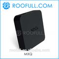 Amlogic em6q s805 quad core google android 4.4 xbmc 13.0 caixa de tv mxq em6q produzido por roofull