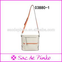 China Famous Brands Cheap Vintage Pure Color Women Handbags Bags brand name flap bag double cc handbag hand bag