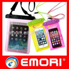 IPX8 PVC waterproof bag, waterproof phone bag