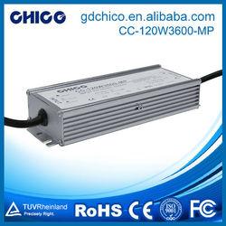 CC-120W3600-MP LED waterproof driver led street light driver