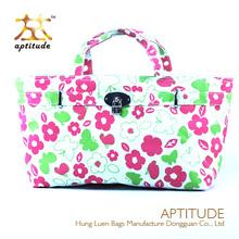 Fashion Floral Pattern Canvas handbag