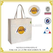Wholesale reusable promotional printed canvas bag/canvas shopping bag