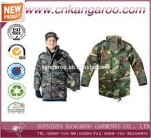 Camouflage Kids Military Long Sleeve BDU Shirt