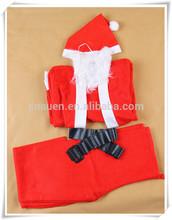 low price AUEN new design Christmas clothing/Santa suit/ Christmas man suit
