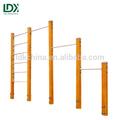 Wpc ao ar livre madeira equipamento da barras de parede