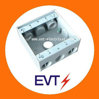 Electrical dimetric Weatherproof Box Aluminum/rectangle type