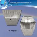 الجديد وصول 1.5mm صندوق الفضة الالومنيوم أداة للشاحنات والعربات التقاطات