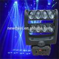 Hot nouveau produit pour 2014, rgbw 8*10w/blanc, discothèque club décoration, quad conduit faisceau d'éclairage