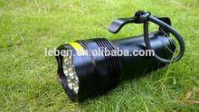 Leben original factory LB-D06B CREE XM-L- T6 4500umens IP68 rechargeable waterproof diving flashlight