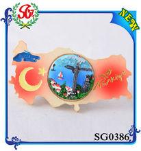 SG0386 Turkiye landscape features Customized Logo Promotional Gifts fridge magnet