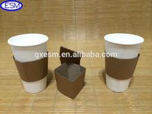 2014 venda quente novo design café luva de papel