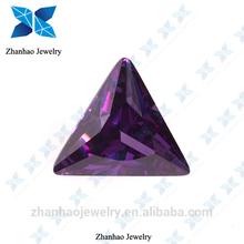 synthetic stone rough /dark amethyst cubic zirconia/synthetic colored amethyst carving stones