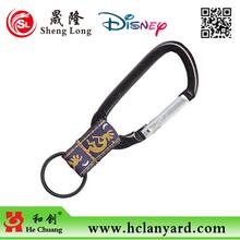 fashion key carabiner with strap