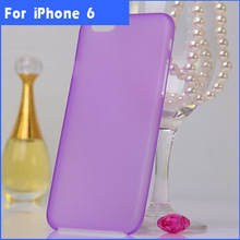 Ultra Thin Frosted Plastic Case For iphone 6,For apple iphone6 Hard Case