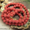 Hot selling and Captivating red sponge coral beads of 2012 (CBD050)