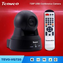 HD 720P wide angle auto tracking video conference camera TEVO-VQ720 worlds smallest hd digital video camera