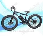 "26"" 4"" Fat Tire 48v 500w motor snow electric bike"