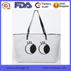 Made in China Nature Canvas Tote Bag Lovely Eyes Canvas Women Handbag OEM