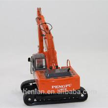 custom made excavator model,scale excavators,metal excavator diecast model factory