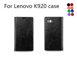 Wholesale mobile phone pu leather case cover For Lenovo K920