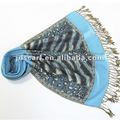 Moda de punto bufanda de invierno 2013 del mantón del leopardo corbatas