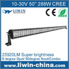 2015 high quality 288w led light bar cover 50 inch led light bar for off-road jeep