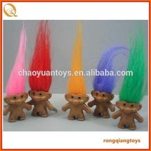 promotional item plastic cute naked smiling troll doll OT72911214-1