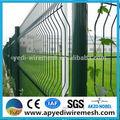 Schöne und billige pfirsich Spalte metallgitter gartenzaun( dreieckige biegen Zaun)