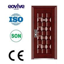 Steel security door E-ST001