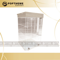 Newest Clear acrylic glasses display stand, lockable glass display cabinet,sunglass display with led lighting from manufacture