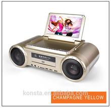 2014 de calidad superior 9 '' vuelos baratos de china karaoke reproductor de DVD