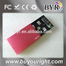 """New USB3.0 to 2.5""""SATA lan HDD Enclosure Case"""