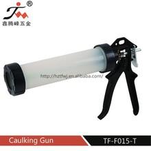 China construction tool plastic sealing guns/plastic barrel