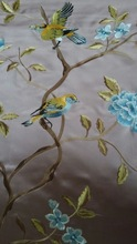 Polyester Cotton Embroidered Fabric