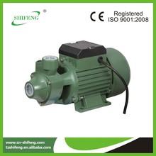 0.5hp qb60 eléctrico vortex bomba de toma de fuerza para el tractor