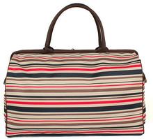 China Supplier Wholesale Custom Full Color Fringe Folding Portable Zipper Lock Travel Bags for Men&Women
