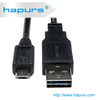 Hapurs 2.0 USB Double Sided Reversible USB Cable for Samsung iphone HTC 5 6 all phones tablets